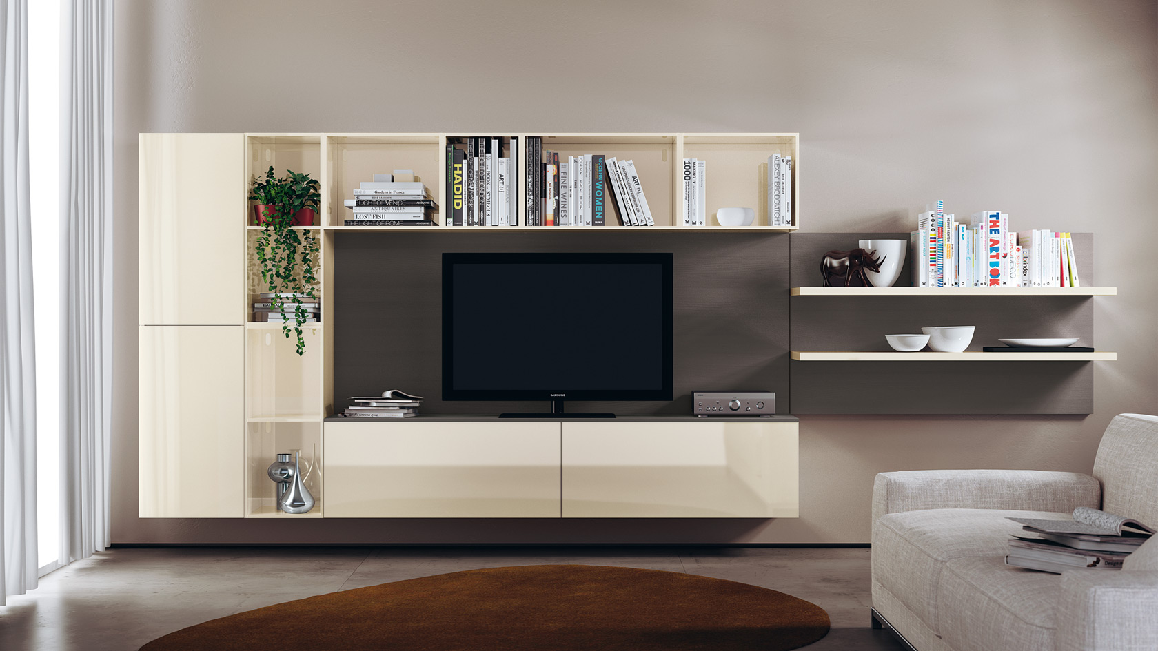 Salon s jour design living open scavolini site officiel for El mundo del mueble catalogo