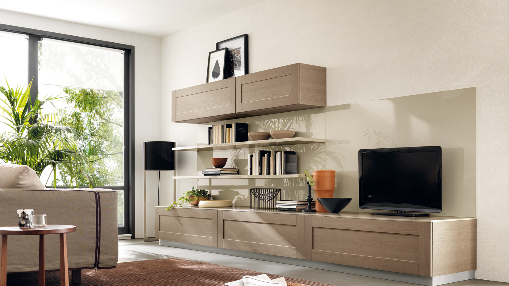 Salon s jour design living open scavolini site officiel for Living meuble salon